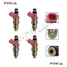 4x 23250-11050 23209-11050 injector de combustível para TOYOTA COROLLA STARLET 1.3L 4EFE 89 ~ 98 Geral 1.5L 5EFE 91 ~ 01
