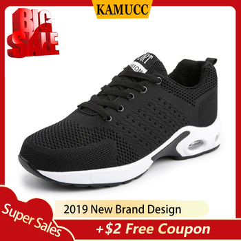 2019Fashion Men Lightweight Sneakers Running Shoes Outdoor Sports Shoes Breathable Comfort Running Gym Shoes Air Cushion Lace Up li ning men s cushion running shoes breathable textile sneakers support tpu lining sports shoes arhm057 xyp478