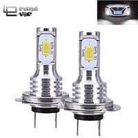 2PCS 72W Super Bright H4 LED H7 Car lights 3000lm CANBUS Error Free H11 LED Blub H1 9005 HB3 9006 HB4 Fog Lamp for Auto 12V