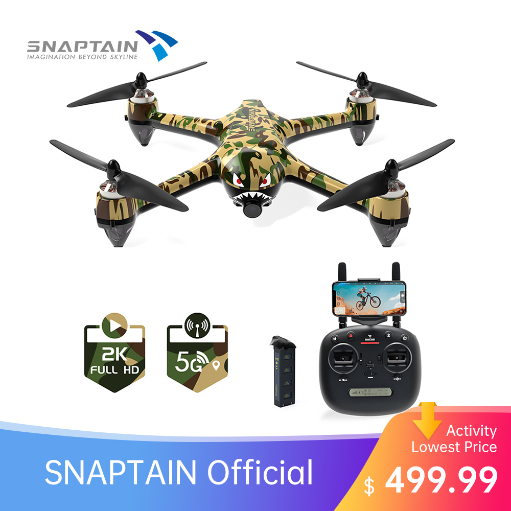 SNAPTAIN SP700 2K drone 4k profesional GPS Drone with Brushless Motor 5G WiFi FPV RC drone Camera Christmas Gift for Adult Kids