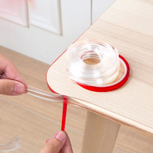 Infant Baby Safety Corner Protection Strip Guards 1m Transparent Table Edge Furniture Protectors Soft PVC Bumper