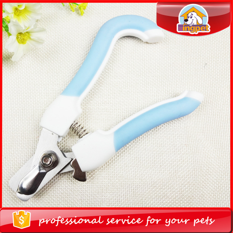 Stock Professional Pet Cat Dog Nail Clipper Cutter Stainless Steel Grooming Scissors Clippers Claw Nail Scissors With Lock