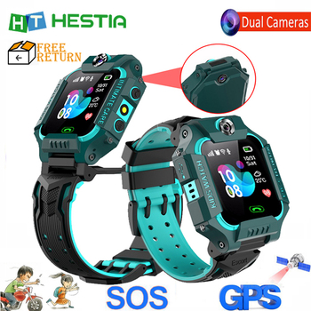 2020 New children watch Kids smart watch Dual Camera smart watch kids Voice monitoring SOS Anti Lost LBS Positioning Baby Gifts