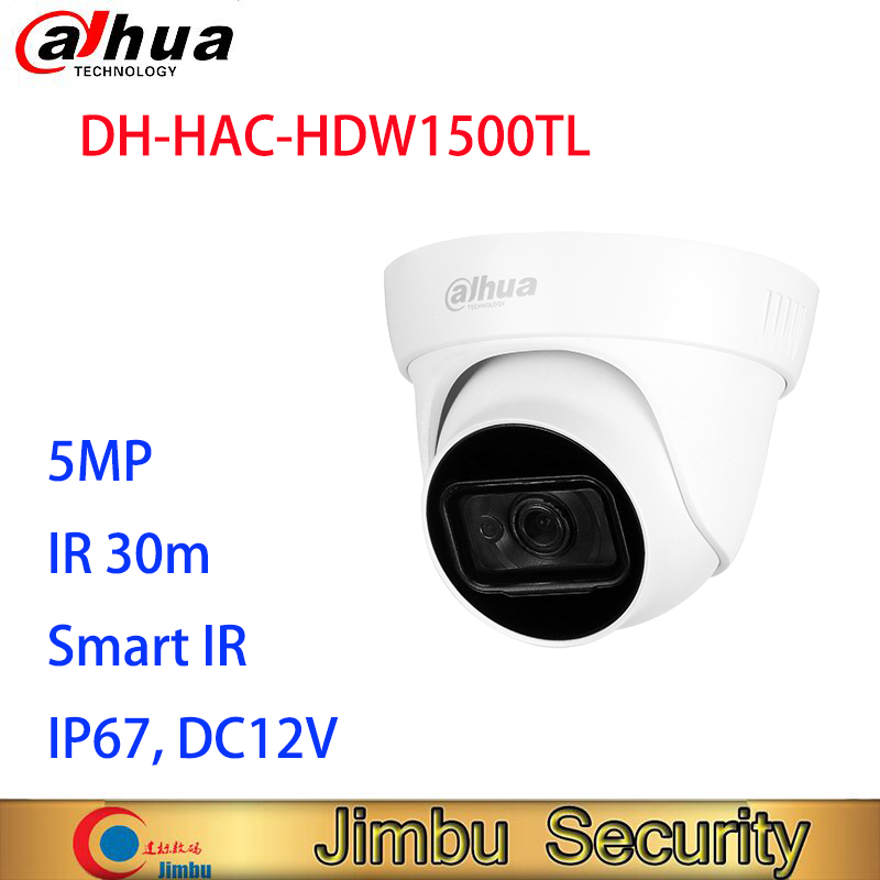 Dahua 5MP HDCVI IR Eyeball Camera HAC-HDW1500TL CVI/CVBS/AHD/TVI Switchable