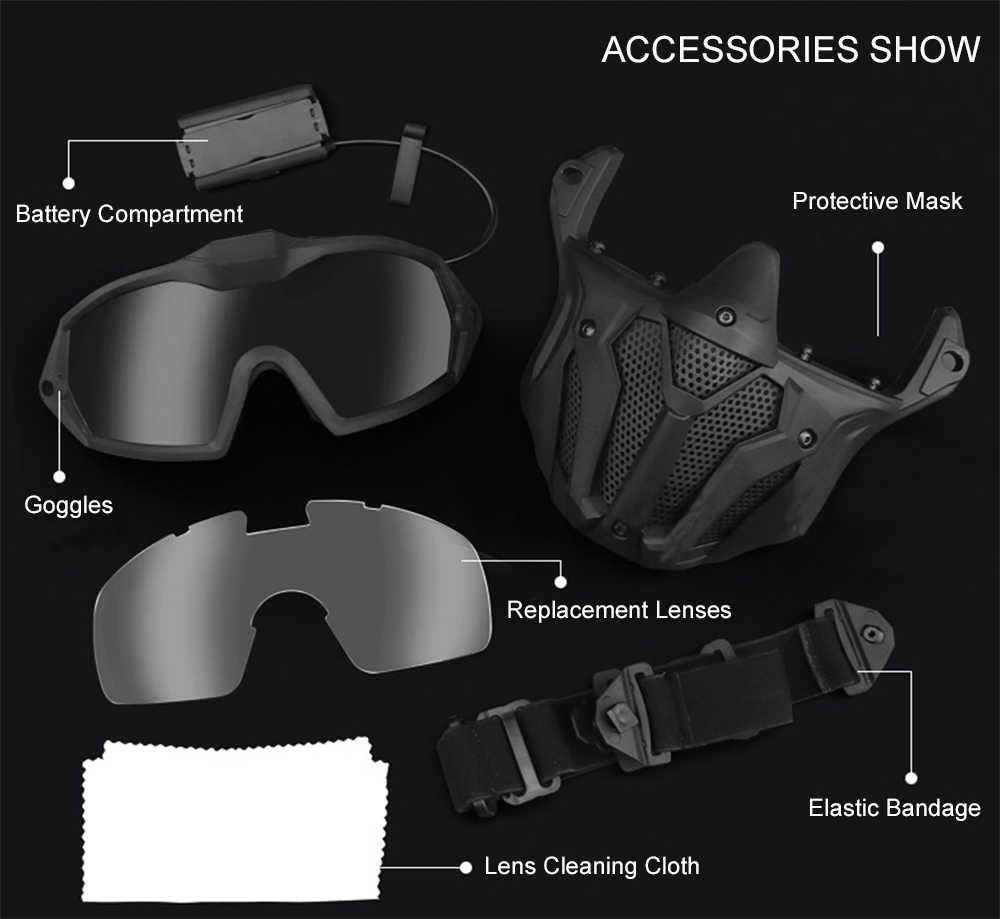 Transparent Delicacydex Protection Classique Airsoft Goggles Tactique Paintball Lunettes Clair Vent Poussi/ère Lunettes De Soleil Mode Accessoires
