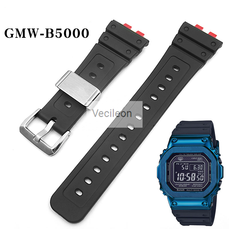 Watchbands And Bezel For GMW-B5000 Watchband Strap With Metal Watch Strap Loops And Buckle Factory Made With Tools