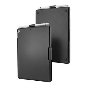 Image 5 - 新 Ipad 用 7 10.2 2019 7 色 Led バックライト 360 度スイベル回転スマートクラムシェルワイヤレス Bluetooth キーボードケースカバー