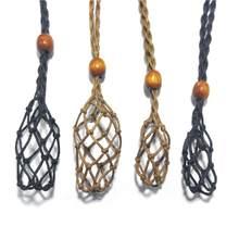 1pc colar cabo vazio suporte de pedra natural cristal quartzo pedra crua chakra ponto cura peixes ninhadas índios amuletos pingente