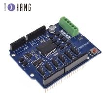 цена на For Arduino uno L298N L298P R3 DC Motor Driver Module Motor Shield R3 5V 12V 2A H-Bridge 2 way For Arduino UNO 2560