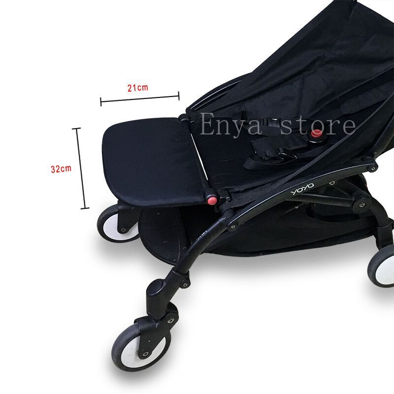 Baby Stroller Foot Rest Extension Feet Sleep Extend Buggy Board Footrest for Babyzen Yoyo Trolley Pushchair Yoya Accessories-in Strollers Accessories from Mother & Kids