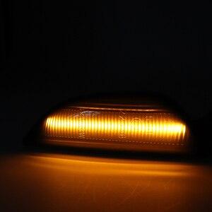 Image 5 - Luz de marcador lateral de fluxo dinâmico âmbar do sinal de volta do diodo emissor de luz da nicarágua 2 pces para opel mokka x chevrolet trax 2013 2019