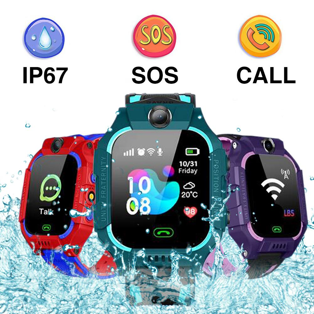 GPS Positioning Kids Smart Watch Toy Touch Screen Waterproof Camera Phone Watch In English Version For Children