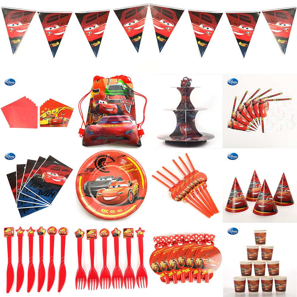 beautiful-Cars-Kids-Birthday-Party-Decoration-Set-Cars-Party-Supplies-Decoration-Baby-Happy-Birthday-Party-Pack