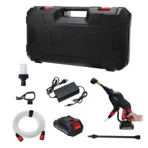 Image 5 - 20V 2.6MPa Cordless Senza Fili Tenuto In Mano Ad Alta Pressione Lavatrice Cleaner per la Pulizia Auto Lavaggio Auto per la Pistola Ugelli Tip 6m di Tubo Filtro
