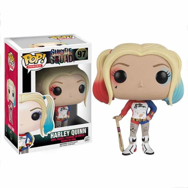 funko POP The Joker Harleen Quinzel Action Figure Toys Dolls 10cm PVC Anime Figure Decoration Model for Kids Christmas Gifts 3
