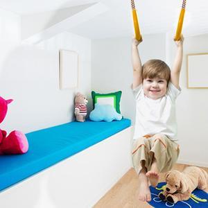 Детские трапеции бар Pull Up Gym кольца регулируемые пластиковые Фитнес Спорт вытяжное кольцо площадка домашнее приспособление для качания