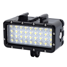 цена на New waterproof LED light underwater light diving for GoPro Hero 8 7 6 5 3 4 Xiaomi Yi Mijia 4K SJCAM Dji Osmo Action Accessories