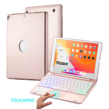 for 7th 8th Generation 10.2 inch 2019 2020 Tablet Case with Keyboard Flip Wireless Touchpad Capa Cover for iPad 10.2 2019 2020