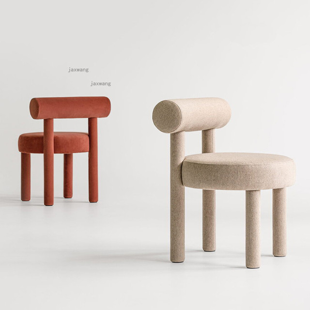 Wood Dining Chairs w/ Backrest  1
