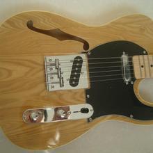 Винтажный Электрический гитарный полый корпус roswwood гриф никель для начинающих