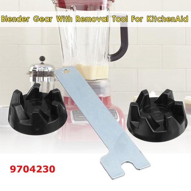 2 pièces en caoutchouc coupleur engrenage embrayage avec outil de retrait pour mélangeur KitchenAid 9704230