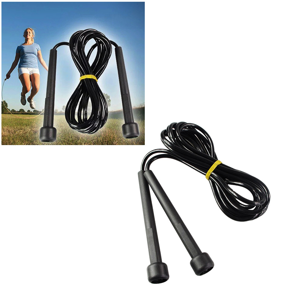 Barrel Small Handle Rubber Jump Rope Foreign Trade Small Jump Rope Fitness The Academic Test For The Junior High School Students