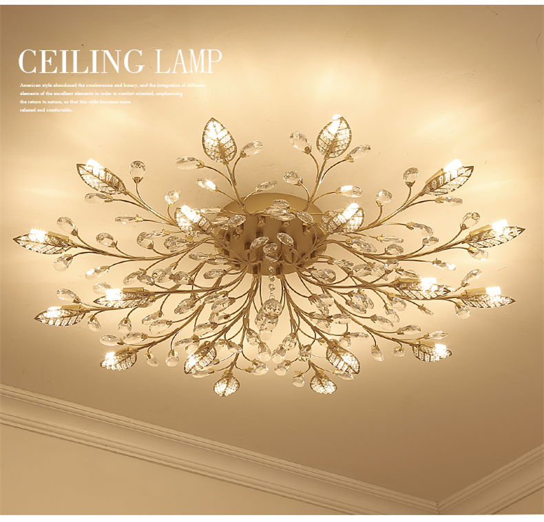 H4fb124f62fbb459ab9aa2d77f7ae9dab5 TRAZOS New item fancy ceiling light LED Crystal ceiling lamp modern lamps for living room lights,AC110-240V DIY Crystal lighting