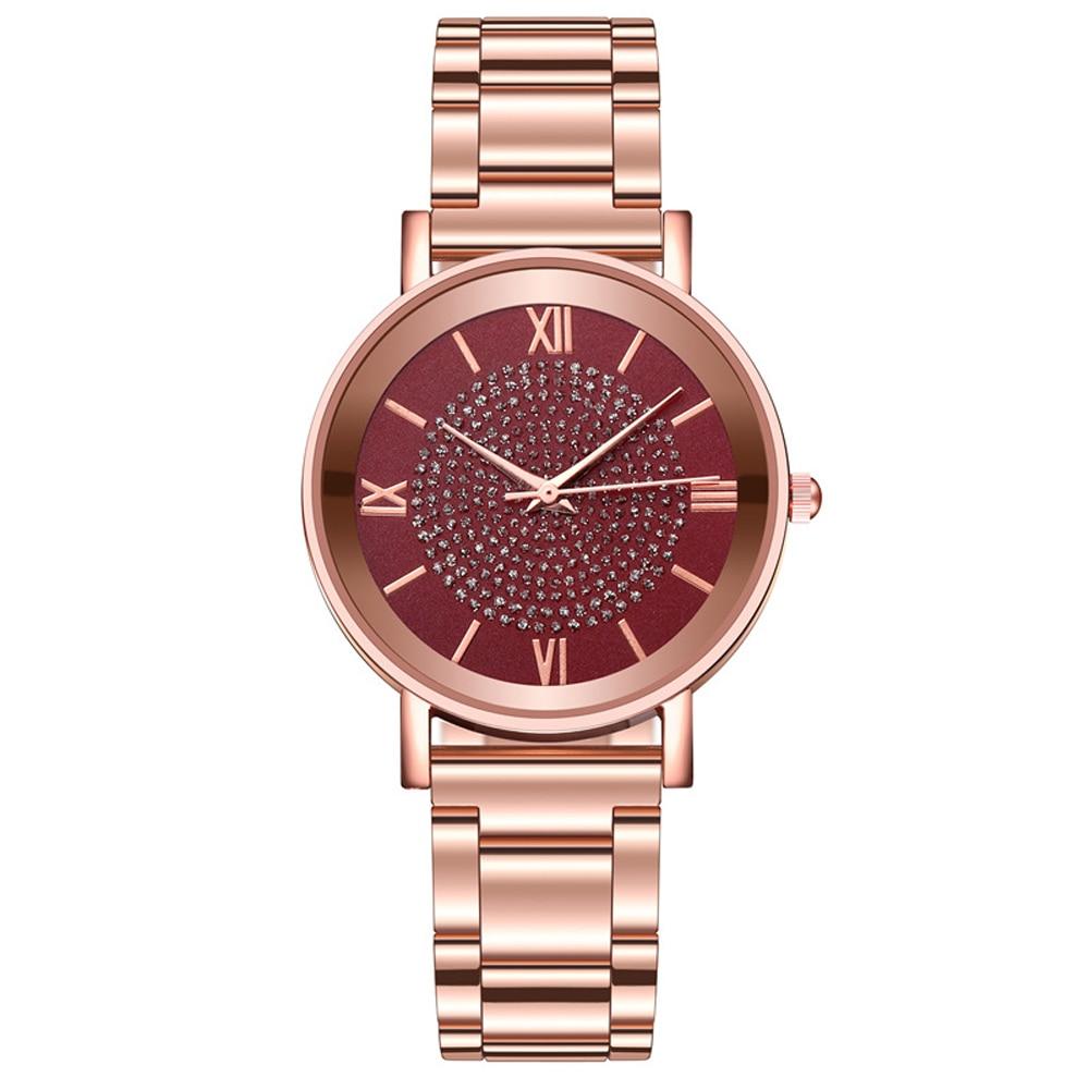 שעון יד נשים זהב יוקרתי  HEZHUKEJI 4