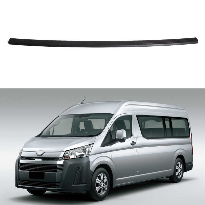 For Toyota Hiace Gl Grandia Tourer H300 2019 2020 Black Plastic Rear Trunk Bumper Plate Guard Protector Cover Car Styling Chromium Styling Aliexpress