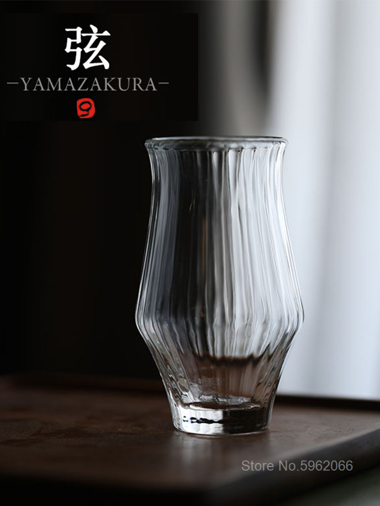 Japanese Niche Whisky Copita Nosing Glass Tumbler Brandy Tulip Whiskey Snifters Shot Glasses Wood Present Box Wine Tasting Cup