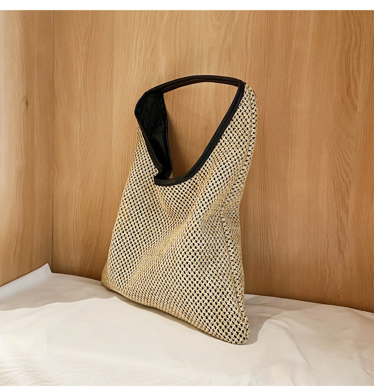 Vintage Straw Shopper Bags