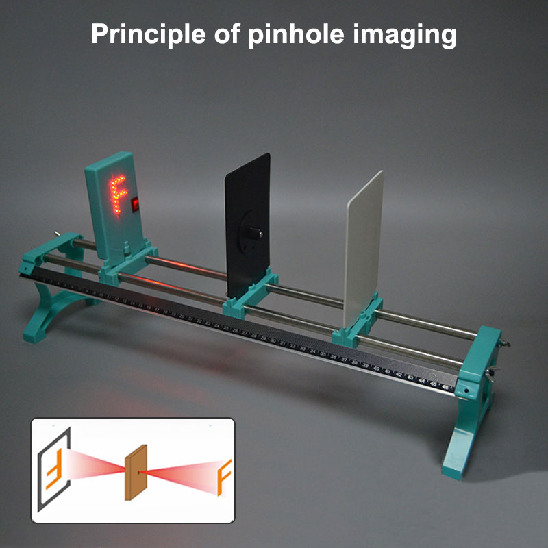 Pinhole Concave Convex Kit Lens Dial Optical Imaging Experiment Laser Set Light Reflection Slider Optics Bench Physical Imaging