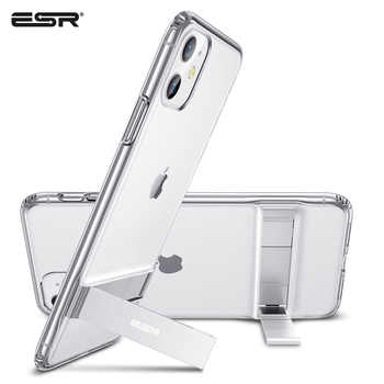 ESR Phone Case for iPhone 11 Pro 11Pro Max 2019 Metal Kickstand Vertical Soft TPU Bumper Stand Case Brand Cover for iPhone 11 - DISCOUNT ITEM  30% OFF All Category