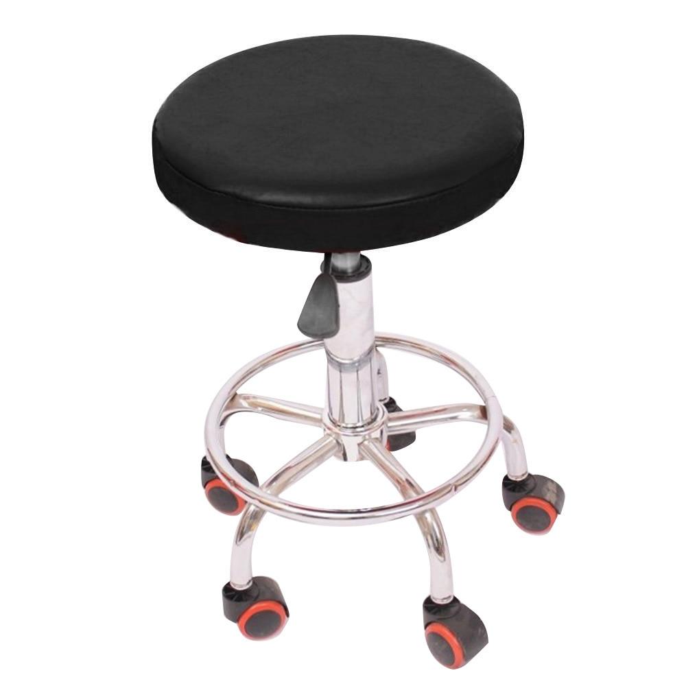 housse de chaises en cuir elastique couverture de siege de bar etanche accessoires de decoration pour la maison livraison directe