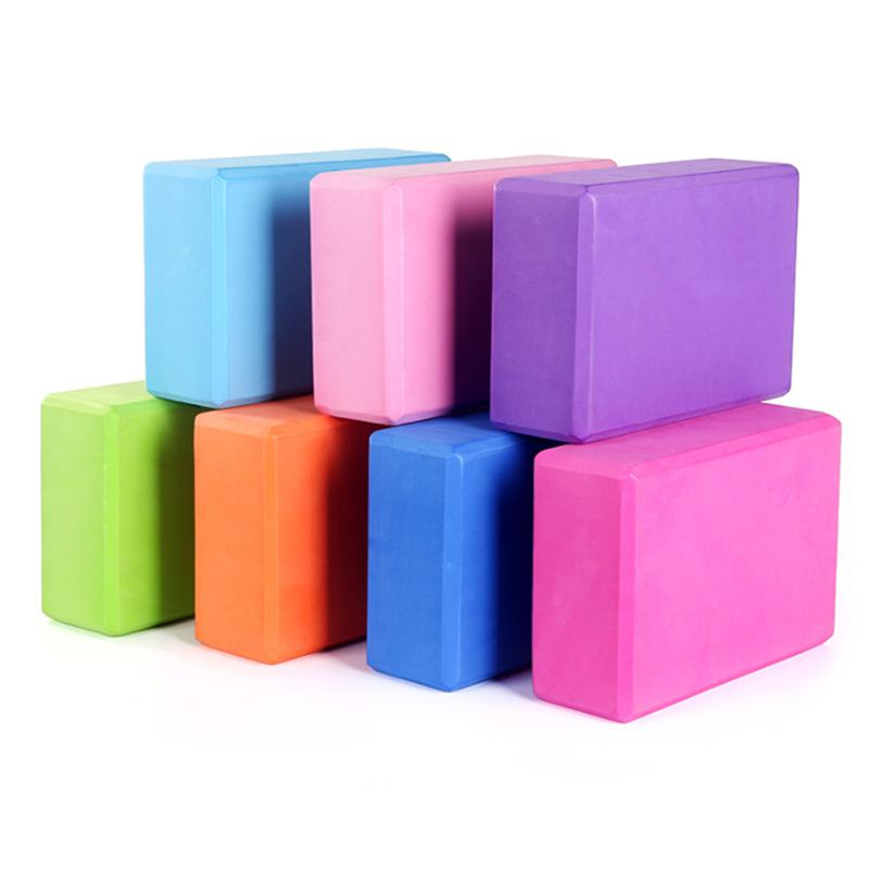 EVA Yoga Block Brick Exercise Fitness Tool Exercise Workout Stretching Aid Body Shaping Health Training Equipment