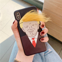 Funny Trump modeling Phone Case For iphone