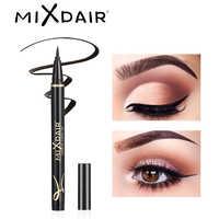 Mixdair lápis delineador preto à prova dwaterproof água de longa duração líquido olho forro caneta borrão-os olhos à prova de maquiagem ferramenta profissional