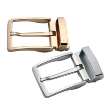 Alloy Reversible Belt Buckle Replacement - Pack of 2 Single Prong Rectangular Pin