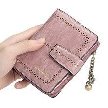 Популярный новый женский короткий кошелек Корейская версия полый