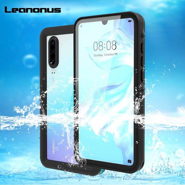 Waterproof Case for Huawei P30 Pro Mate 20 Pro Cover Shockproof Dustproof Swim Case For Huawei P20 Lite P20 Pro Underwater Case