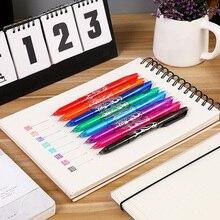 Стираемая гелевая ручка, кликер, тонкие точечные чернила, ручка для гладкого письма, для студентов, школьников, TP899