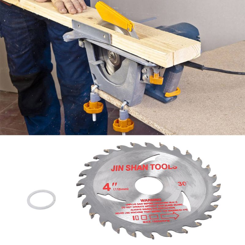 105mm Circular Saw Blade Disc Wood Cutting Tool Bore Diameter 20mm For Rotary Tool Woodworking 19QB