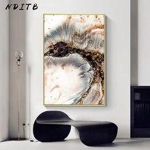 Gouden Marmeren Abstract Canvas Wall Schilderen Hedendaagse Kunst Poster Print Licht Luxe Stijl Foto Modern Home Kamer Decoratie