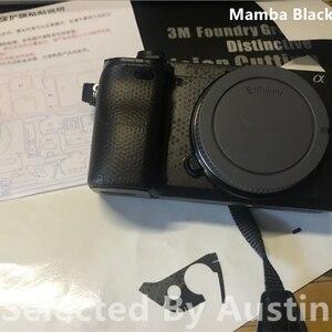 Image 4 - מצלמה עור מדבקות לעטוף סרט מגן עבור Sony A6400 a6300 אלפא נגד שריטות מדבקות מדבקה