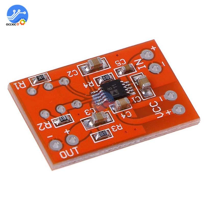 Плата усилителя микрофона SSM2167 DC 3V-5V с низким уровнем шума COMP, модуль сжатия, моно усилитель, аудио звуковая плата