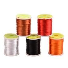 5 шт/лот высокопрочные материалы для вязания лески ловли нахлыстом