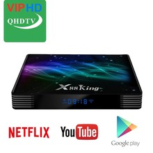 X88 King Android IPTV QHDTV Smart m3u France Neo Volka Pro Media Player Europe Arab Netherland Africa X88 Set Top Tv Box(China)