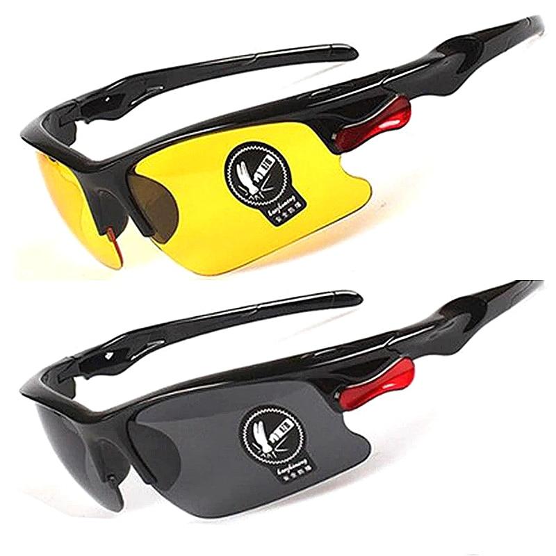 1 шт. вождения антибликовые поляризованные солнцезащитные очки, очки, для езды на Ночное видение драйверы очки аксессуар Защитное снаряжени...