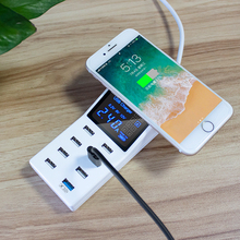 QI Wireless Charger Quick Charge 3.0 Smart 8USB Type C Charg