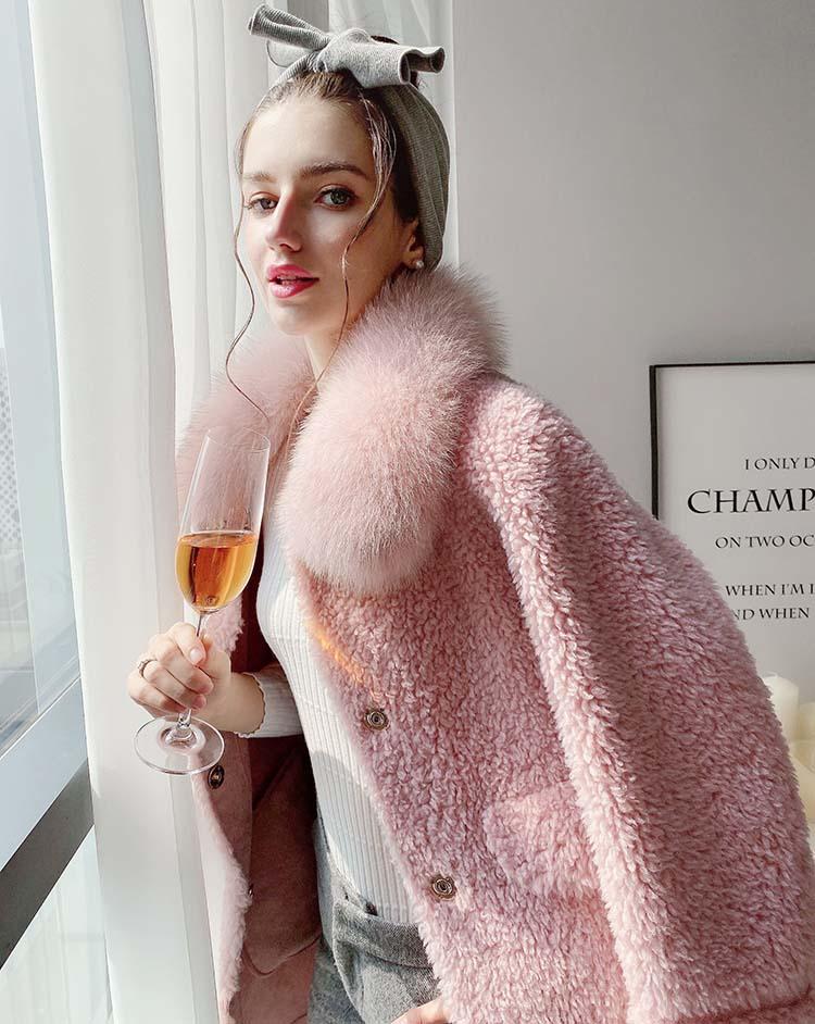 Dabuwawa элегантное платье розового цвета с длинным ворсом женское